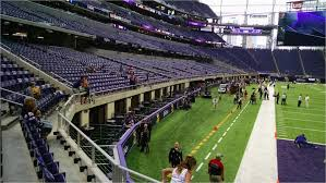 Us Bank Vikings Seating Chart Minnesota Vikings Stadium Map Minnesota Vikings Seating