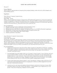 general job objective resume examples good resume objective examples resume