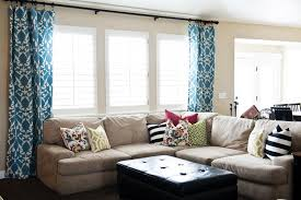 Window Coverings Living Room Valuable Modern Window Treatments For Living Room On Interior