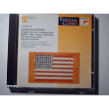 copland orchestral works orchestral works see program listing below by aaron copland cd