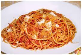 spaghetti amatriciana pasta