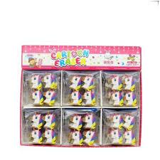 <b>4pcs</b>/<b>lot Cute</b> Cartoon <b>Creative</b> Unicorn Eraser OF Pencil Kawaii ...