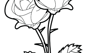Rose Flowers Colouring Pages Color Of Flower Coloring For Girls And