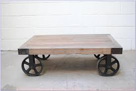 Coffee Table Industrial Diy Industrial Coffee Table Wheels Coffee Table Home Furniture