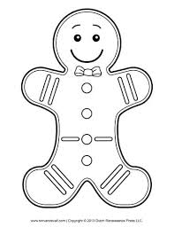 Gingerbread Man Felt Board Story Template Gingerbread Man Stencil Pixels A Gingerbread Man Template Printable
