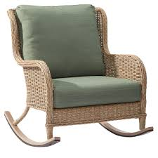 outside wicker rocking chair. lemon grove wicker outdoor rocking chair with surplus cushions outside e