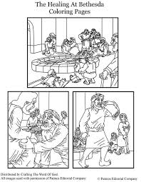 The Healing At Bethesda Coloring Pages Coloring Pages Are A Great