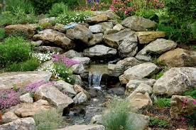 Nice Garden Rock Features Rock Water Features For The Garden Alices Garden