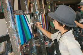 kids birthday paint parties