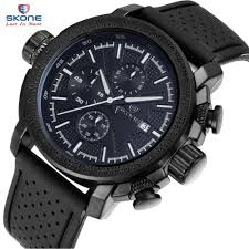 mens watches ratings promotion shop for promotional mens watches skone sport army men watch top brand luxury famous military multifunction silicone mens quartz watches relogio masculino hodinky