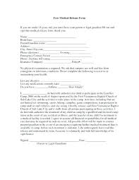 Medical Release Forms And The Printed Automatically Load This Free ...