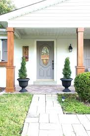 porch column wraps. Porch Column Home Depot Wraps Wood Deck With Brick Columns