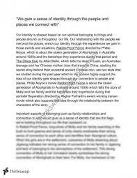 belonging essay year hsc english as a second language  esl cssa 2010 belonging response