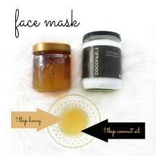 diy coconut oil face mask with honey