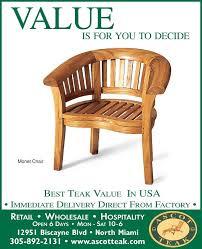 ascot teak patio furniture furniture