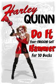 harley quinn diy hammer cosplay
