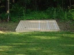 I Outdoor Kennel Building A Platform Kennel Deck Flooring