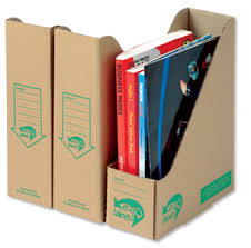 Cardboard Magazine File Holders Jeri's Organizing Decluttering News Magazine Files with Flair 1