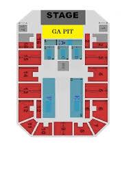 Canton Memorial Civic Center Seating Diagrams