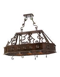 to enlarge frontera pot rack chandelier