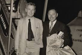 donald windham org playwright tennessee williams his arm around donald windham 039 s shoulders the