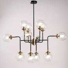 chandelier light shades glass heads modern shade glass chandelier light bulb led pendant lamp artistic sphere chandelier light shades