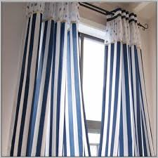 navy blue horizontal striped curtains navy blue and white striped curtain panels