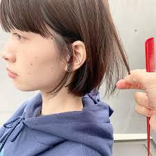 面長の女の人に似合う髪型は可愛いヘアスタイル13選や前髪も Cuty