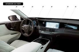 2018 lexus ls interior. exellent 2018 2018 lexus ls interior and redesign throughout