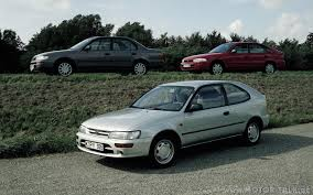 TOYOTA Corolla car technical data. Car specifications. Vehicle ...