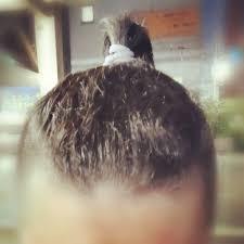 Jamtanblr 髪の毛を束ねられるようになったまだまだ長かった頃と比べ