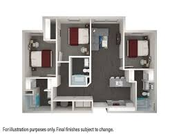 Good 3 Bedrooms 3 Bathrooms Apartment For Rent At Park West In College Station,  TX