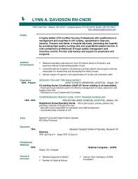 Example Of A Nursing Resume Delectable Nursing Resume Template Musiccityspiritsandcocktail