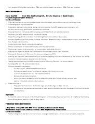 Maintenance Engineer Resume Sample Power Plant Engineer Resume