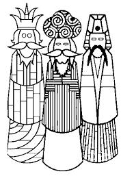 Kleurplaat Drie Koningen 4