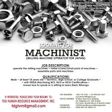 Machinist – Jobdepo