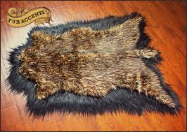stuffed animal deer rug fantastic fur accents faux fur pelt rug deer hide thick by