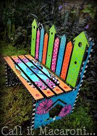 Best 25 Hand Painted Stools Ideas On Pinterest  Hand Painted Hand Painted Benches