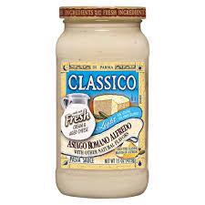 Classico Light Alfredo Classico Light Asiago Romano Alfredo Sauce 15 Oz In 2019