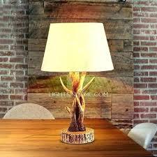 deer lamp shade deer antler lamp shades idea horn lamps or light fixture lovely and vintage deer lamp shade