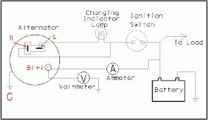 wiring diagram for alternator gm 2 wire alternator to 4 wire at 4 Wire Alternator Diagram