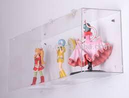 wall mounted high transpa acrylic display box