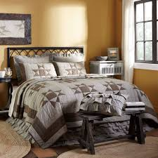 delectably yours com ohio star quilt and sham bed set by vhc brands
