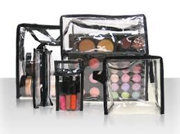 makeup artist studio set bag 6 pc set