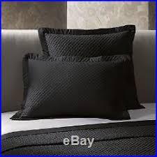 Ralph Lauren Wyatt Onyx Black 3 PC King Quilted Coverlet Pillow ... & Ralph Lauren Wyatt Onyx Black 3 PC King Quilted Coverlet Pillow Shams Pair Adamdwight.com