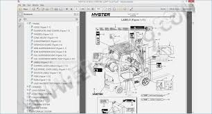 hyster forklift schematic wire center \u2022 Hyster H50XM Fork Lift Repair Manual hyster forklift diagram rear view introduction to electrical rh jillkamil com hyster forklift manual free hyster