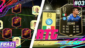 WE PACK INFORM LOZANO & NEW STARTER TEAM! - Road to Glory #3   FIFA 21  Ultimate Team - YouTube