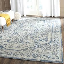 unlock blue gray area rug safavieh heritage grey yellow by white and cream