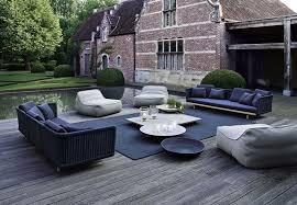 garden in belgium designed by jan joris tuinarchitectuur paola lenti furniture