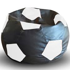 urbanluxy football bean bag with bean fillings